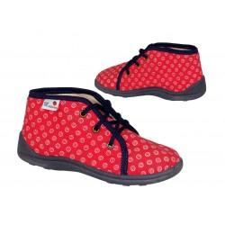 Buty dziecięce świecące led 7489 grey/pink