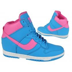 sneakersy buty sportowe koturn 1553-1