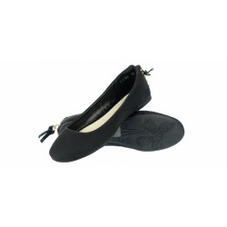 Balerinki baleriny buty dziewczęce 238c black