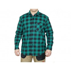 Bhp koszula flanelowa robocza urgent zielony