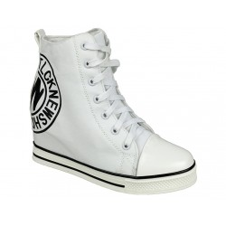 Sneakersy trampki koturny damskie slip tl251-2