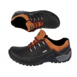 Buty damskie trekkingowe górskie niskie 925-9