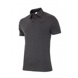 T-shirt koszulka polo 4f oryginał tsm013 c.szary
