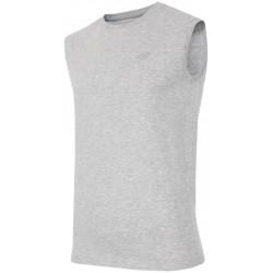 Koszulka bez rękawów męska 4f tsm001 j.szary