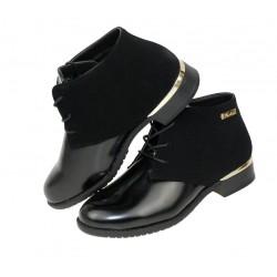 Botki kozaczki buty damskie lakierki qq 62-1