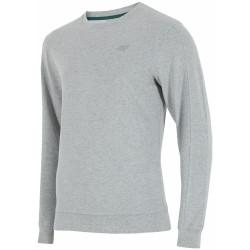 4f bluza dresowa męska blm001 j.szary