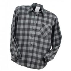 Bhp koszula flanelowa robocza urgent szara
