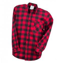 Bhp koszula flanelowa robocza urgent czerwony