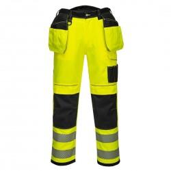 Spodnie robocze męskie odblaskoweT602