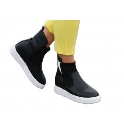 Sneakersy buty botki koturn damskie 18318 blc